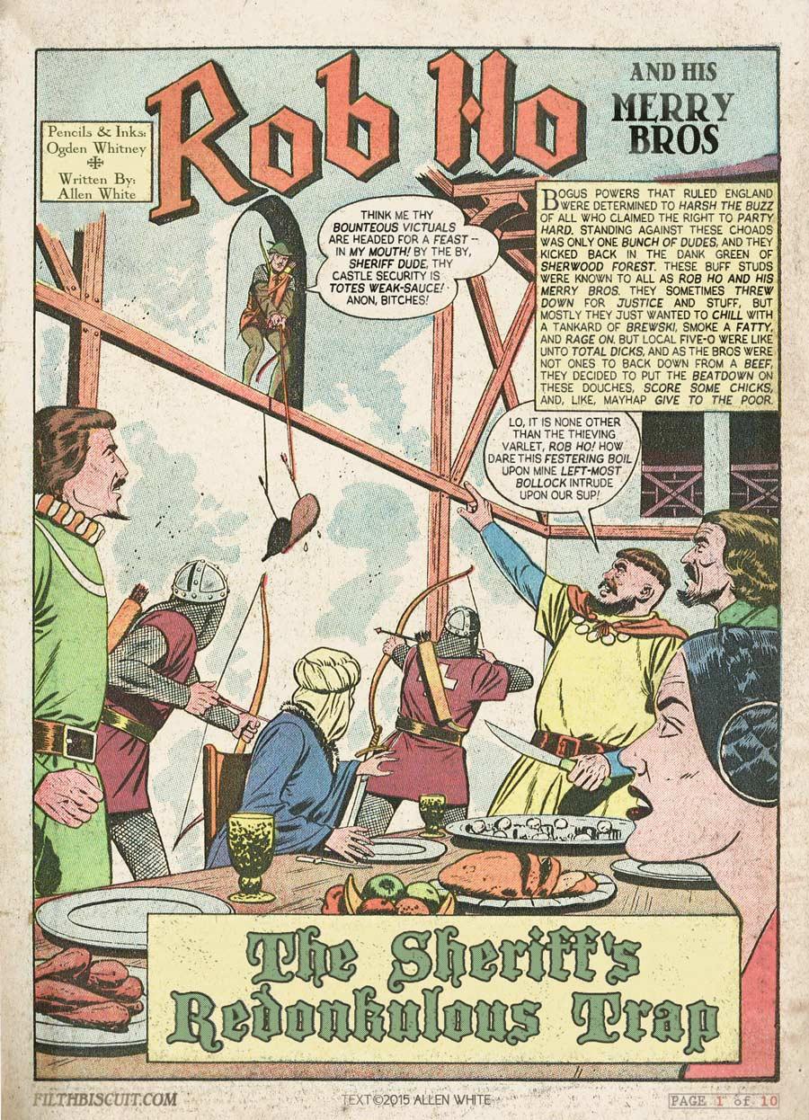 Rob Ho & His Merry Bros - Page 01